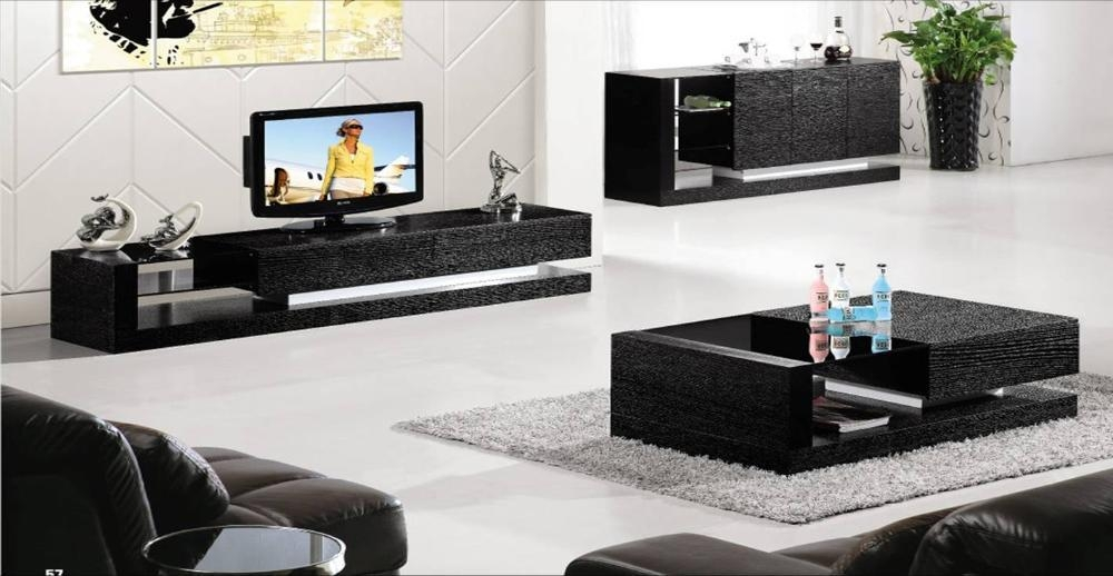 20 photos tv stand coffee table sets tv cabinet and for Modern tv set furniture