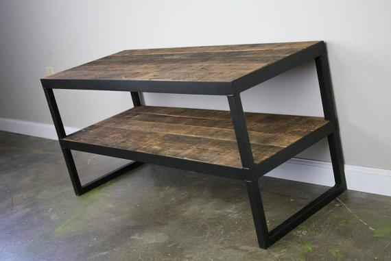 Combine 9 | Industrial Furniture – Modern Industrial Tv Stand Pertaining To Recent Industrial Tv Stands (Image 8 of 20)