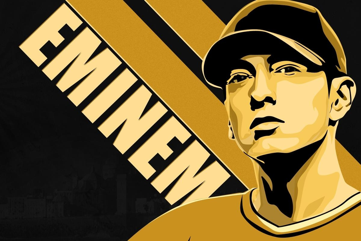 Compare Prices On Eminem Wall Posters Online Shopping/buy Low Throughout Eminem Wall Art (View 12 of 20)