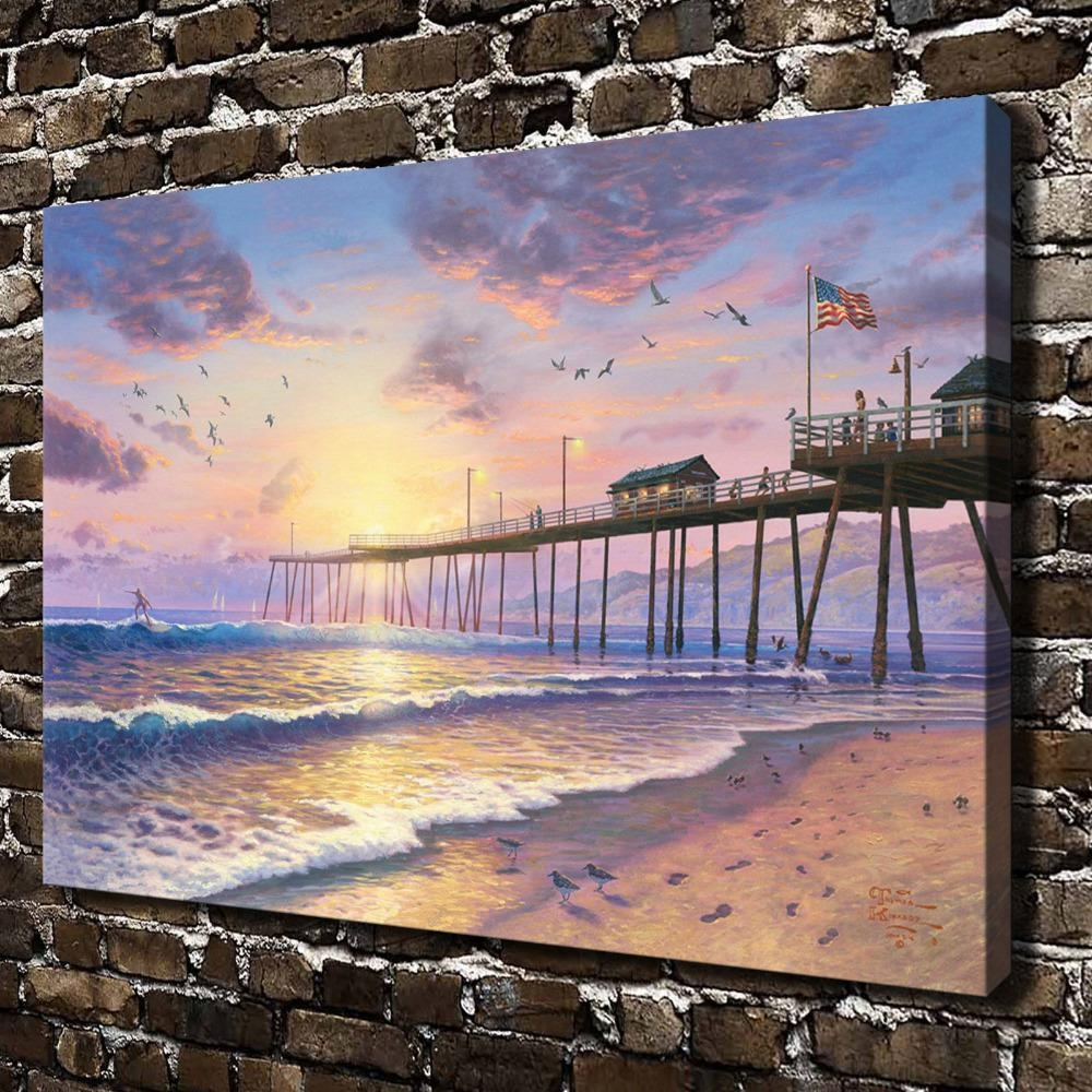 Compare Prices On Footprint Sand Online Shopping/buy Low Price Throughout Footprints In The Sand Wall Art (View 12 of 20)
