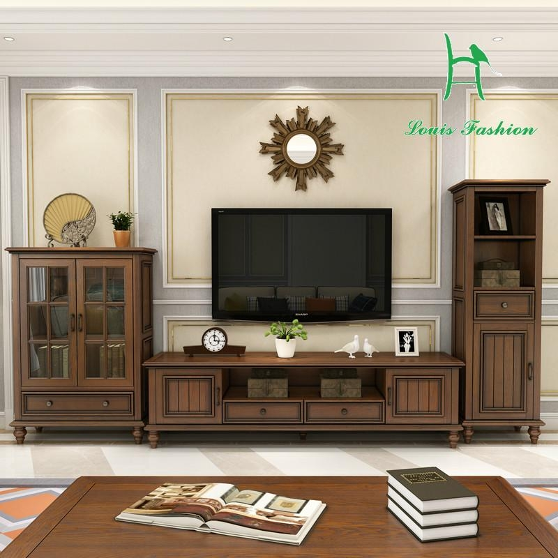 Compare Prices On Furniture Wood Tv Cabinet Online Shopping/buy With Regard To Most Recently Released Country Style Tv Cabinets (View 17 of 20)