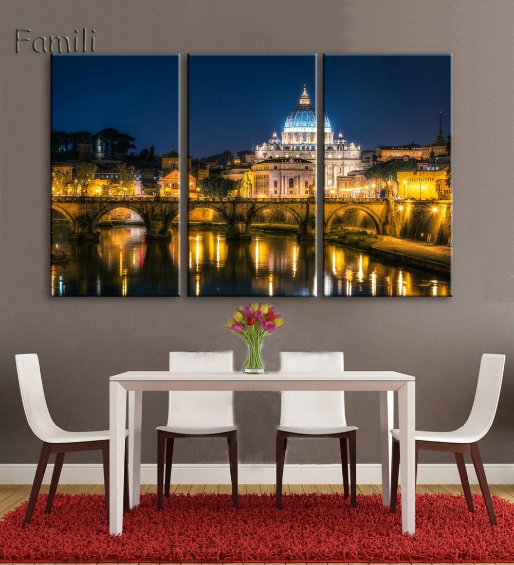 Compare Prices On Italy Canvas Wall Art Online Shopping/buy Low Throughout Italian Scenery Wall Art (View 18 of 20)