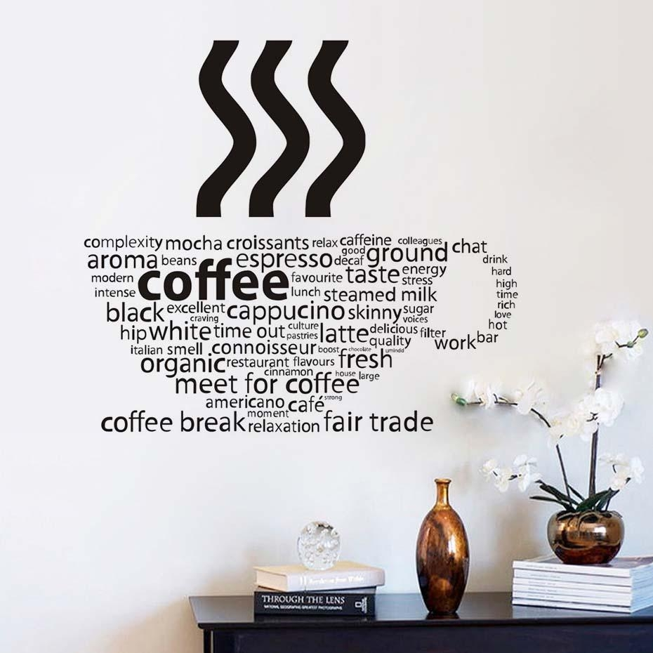 Compare Prices On Kitchen Furniture Shops  Online Shopping/buy Low Throughout Italian Coffee Wall Art (Image 7 of 20)
