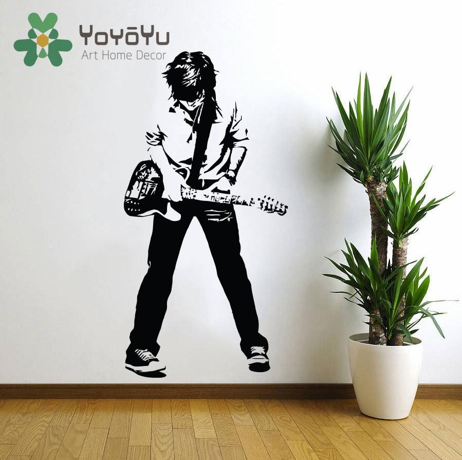 Compare Prices On Rock Wall Tiles  Online Shopping/buy Low Price With Regard To Rock And Roll Wall Art (Image 5 of 20)
