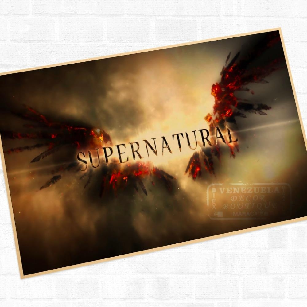 Compare Prices On Supernatural Wall Art Decor Online Shopping/buy Within Supernatural Wall Art (View 14 of 20)
