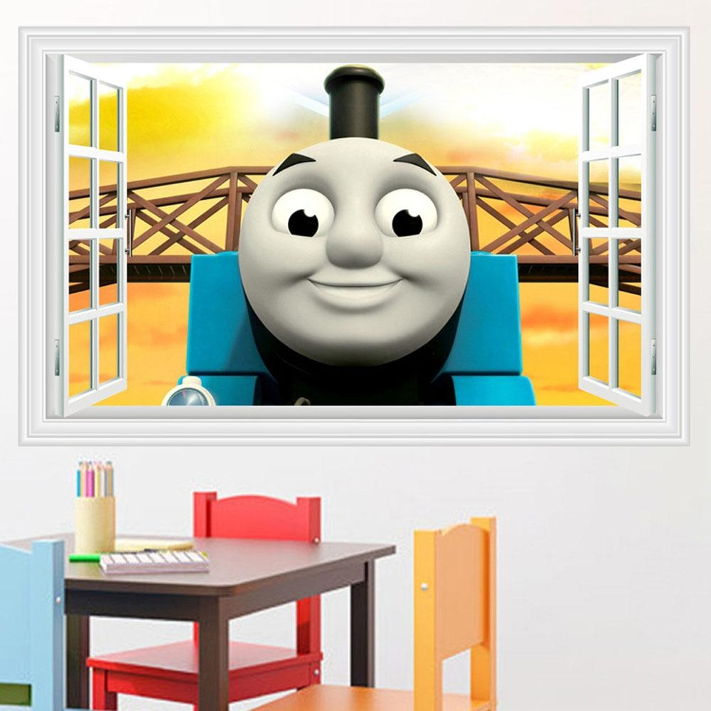 Compare Prices On Thomas Train Decor  Online Shopping/buy Low With Thomas The Tank Wall Art (Image 6 of 20)