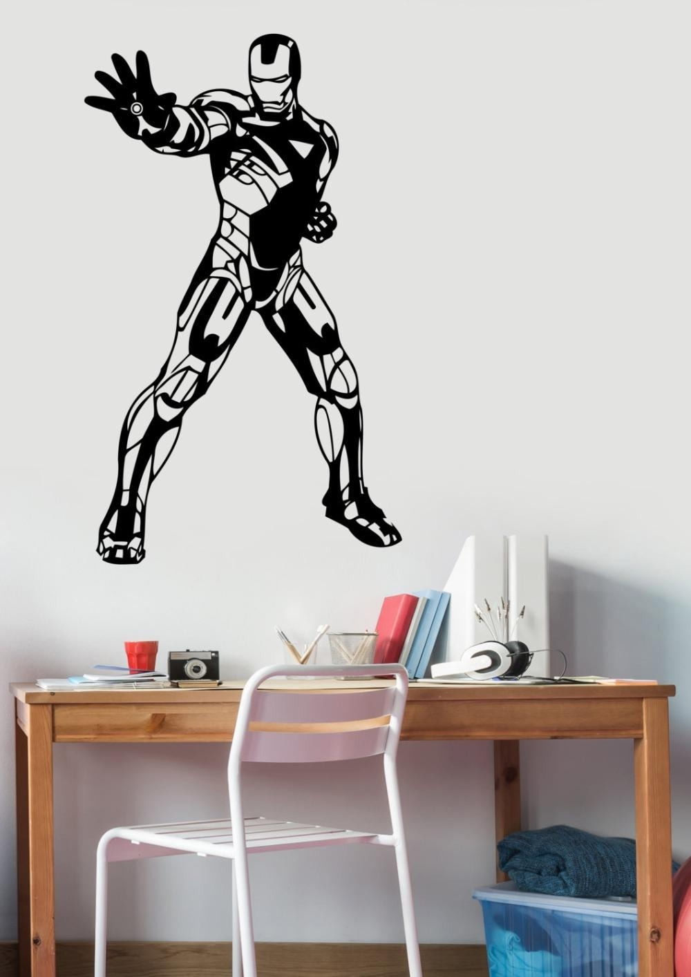Compare Prices On Wall Art Stickers Superhero  Online Shopping/buy With Superhero Wall Art Stickers (Image 7 of 20)