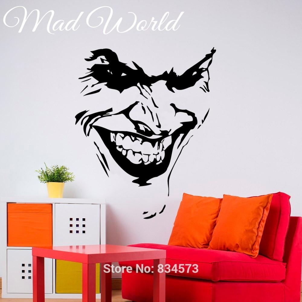 Compare Prices On Wall Art Stickers Superhero  Online Shopping/buy Within Superhero Wall Art Stickers (Image 8 of 20)