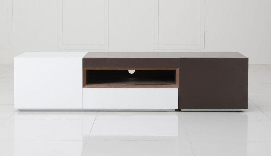 Contemporary 2 Tone Tv Entertainment Unit Irvine California Vpuzzle In Most Recent Contemporary Tv Stands (View 17 of 20)