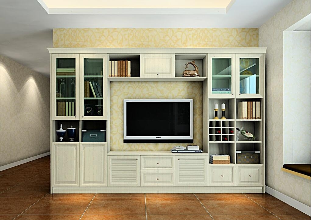 Contemporary European Style Combination Of Tv Cabinet And Display Pertaining To Latest Tv Display Cabinets (View 6 of 20)