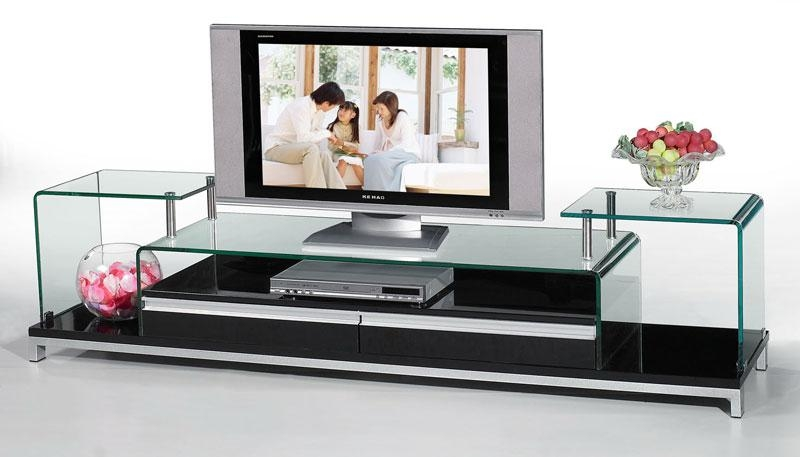 Etonnant Contemporary Glass Furniture Tv Stand Interior Pool New In Glass Intended  For Most Popular Contemporary Glass
