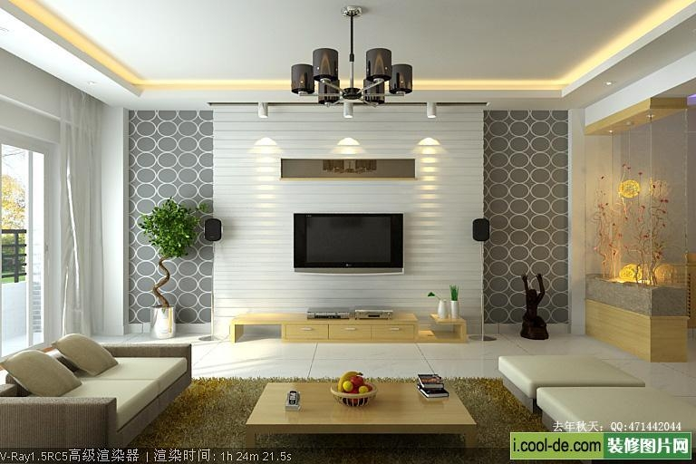 Contemporary Living Room Interior Designs Throughout Newest Contemporary Tv Wall Units (View 11 of 20)