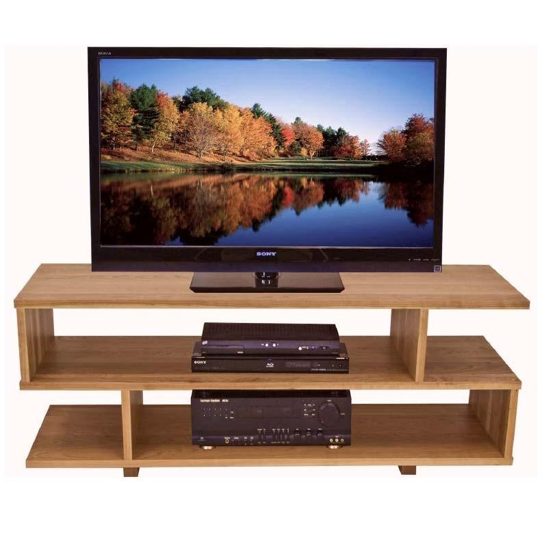 Contemporary Style Tv Stand | Solid Wood Home Entertainment Furniture For Best And Newest Contemporary Wood Tv Stands (View 9 of 20)