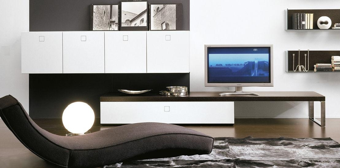 Contemporary Tv Cabinet / Glass - Seventy Daypietro Arosio pertaining to Latest Contemporary Tv Cabinets