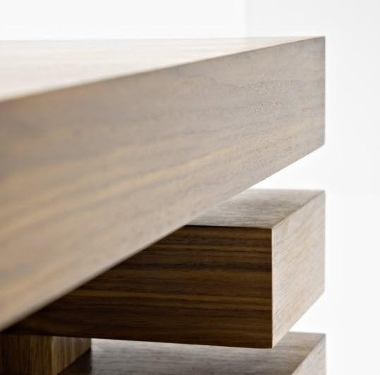 Contemporary Tv Cabinet / Oak / Walnut / Beech – Penrose – Passoni Inside Current Beech Tv Stand (Image 9 of 20)