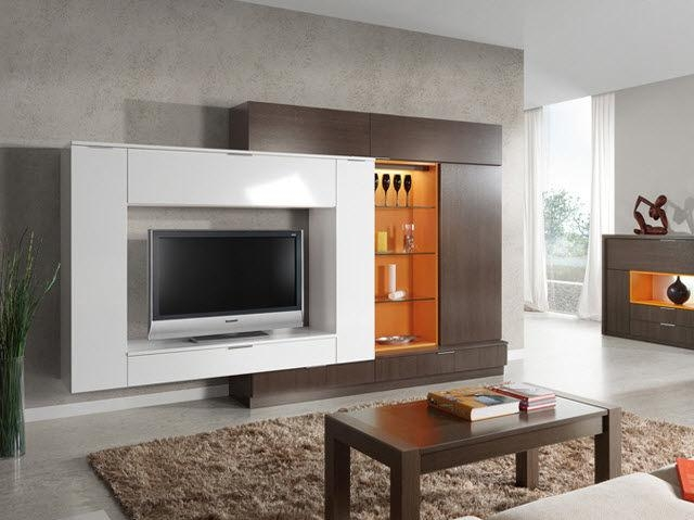 Contemporary Tv Cabinet / Wooden – Milenium Plus 4705 – Baixmoduls Regarding 2017 Contemporary Tv Cabinets (Image 7 of 20)