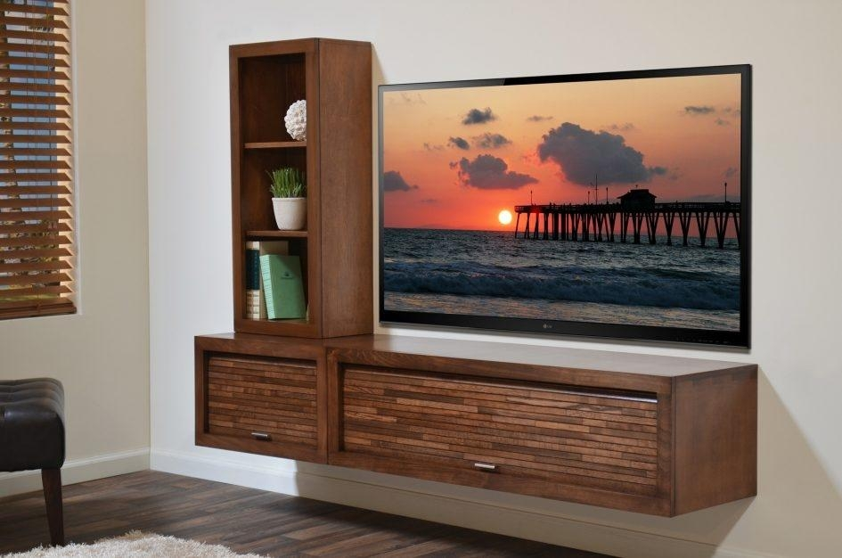 Contemporary Tv Cabinets For Flat Screens | Roselawnlutheran Inside Most Recently Released Wall Mounted Tv Stands For Flat Screens (View 4 of 20)