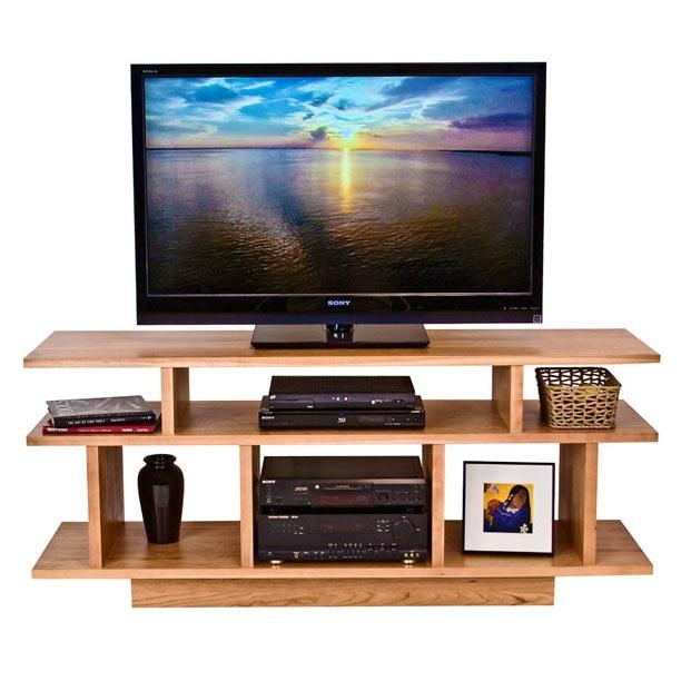 Contemporary Tv Stand | Solid Wood Media Stands | Vermont Made With Regard To 2017 Contemporary Wood Tv Stands (Image 9 of 20)