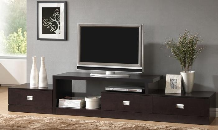 Contemporary Tv Stands | Groupon Pertaining To Newest Contemporary Modern Tv Stands (Image 10 of 20)