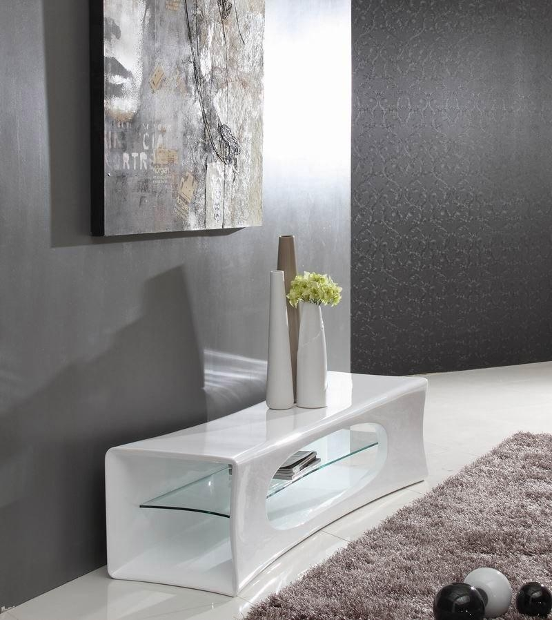 Contemporary White Tv Stand In Latest Contemporary White Tv Stands (Image 6 of 20)