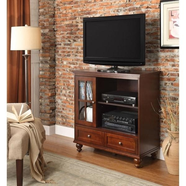 Convenience Concepts Designs2Go Tahoe Highboy Tv Stand – Free With Regard To Recent Highboy Tv Stands (View 18 of 20)