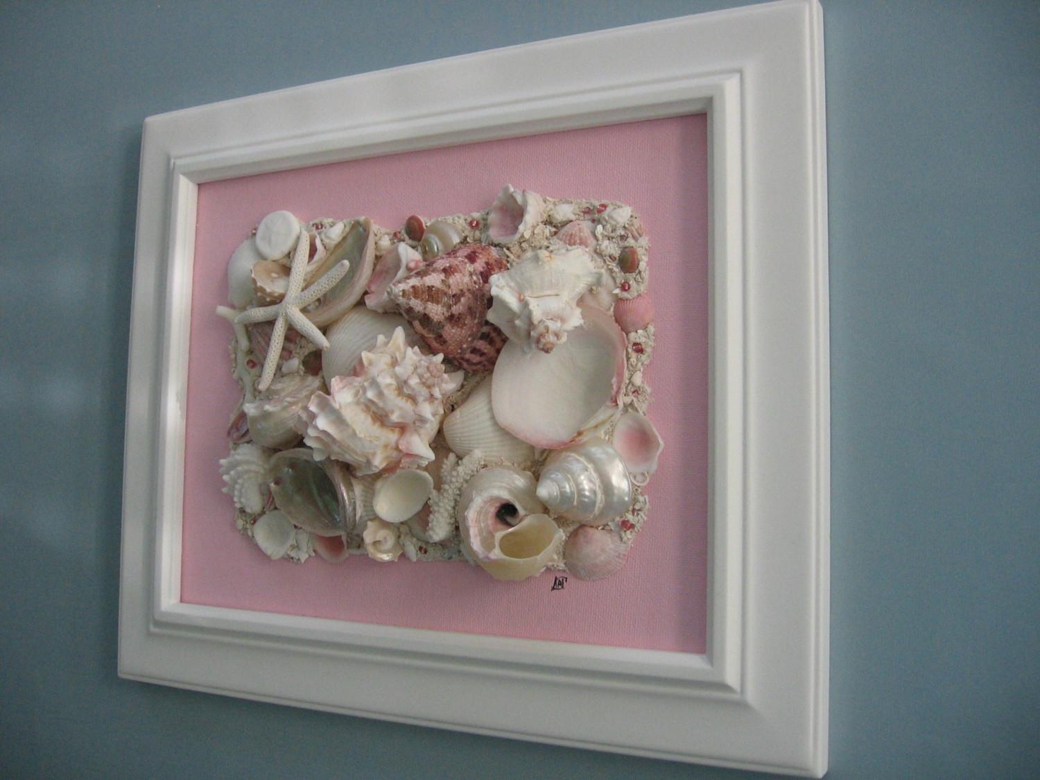 Conventional Art | Imikimiart For Wall Art With Seashells (Image 11 of 20)