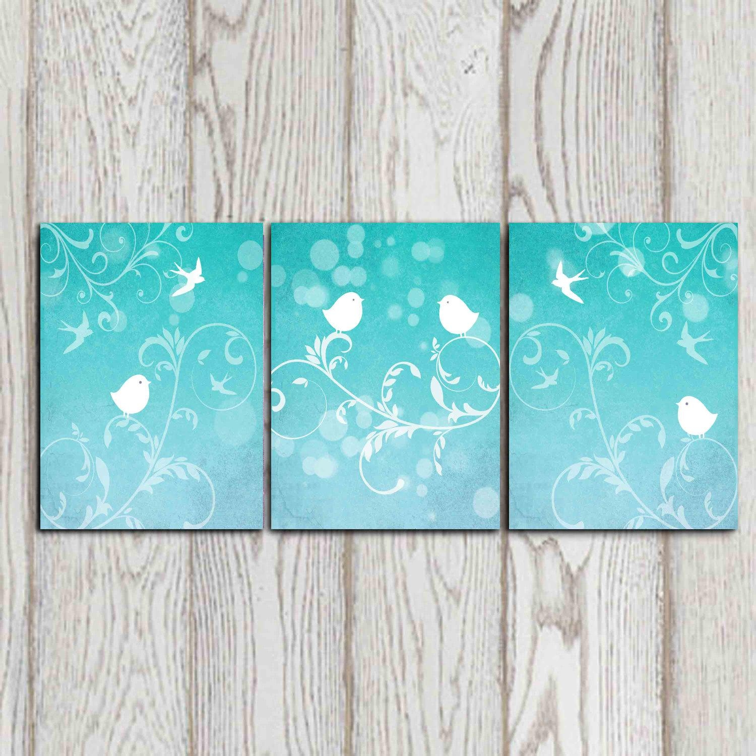 Cool Aqua Wall Art Aqua Sea Grass Aqua Aqua Colour Wall Art Aqua With Regard To Teal And Gold Wall Art (View 14 of 20)