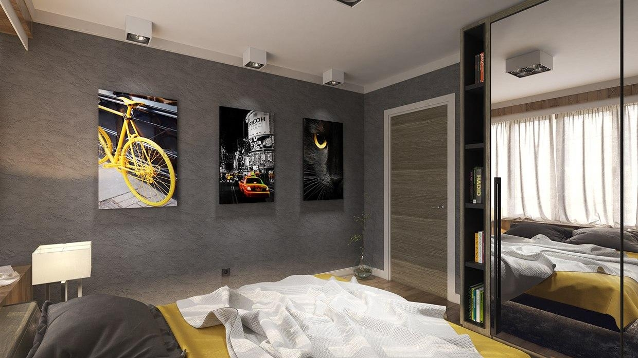Coolest Teenage Boy Bedroom Ideas In Cool Wall Art For Guys (Image 8 of 20)