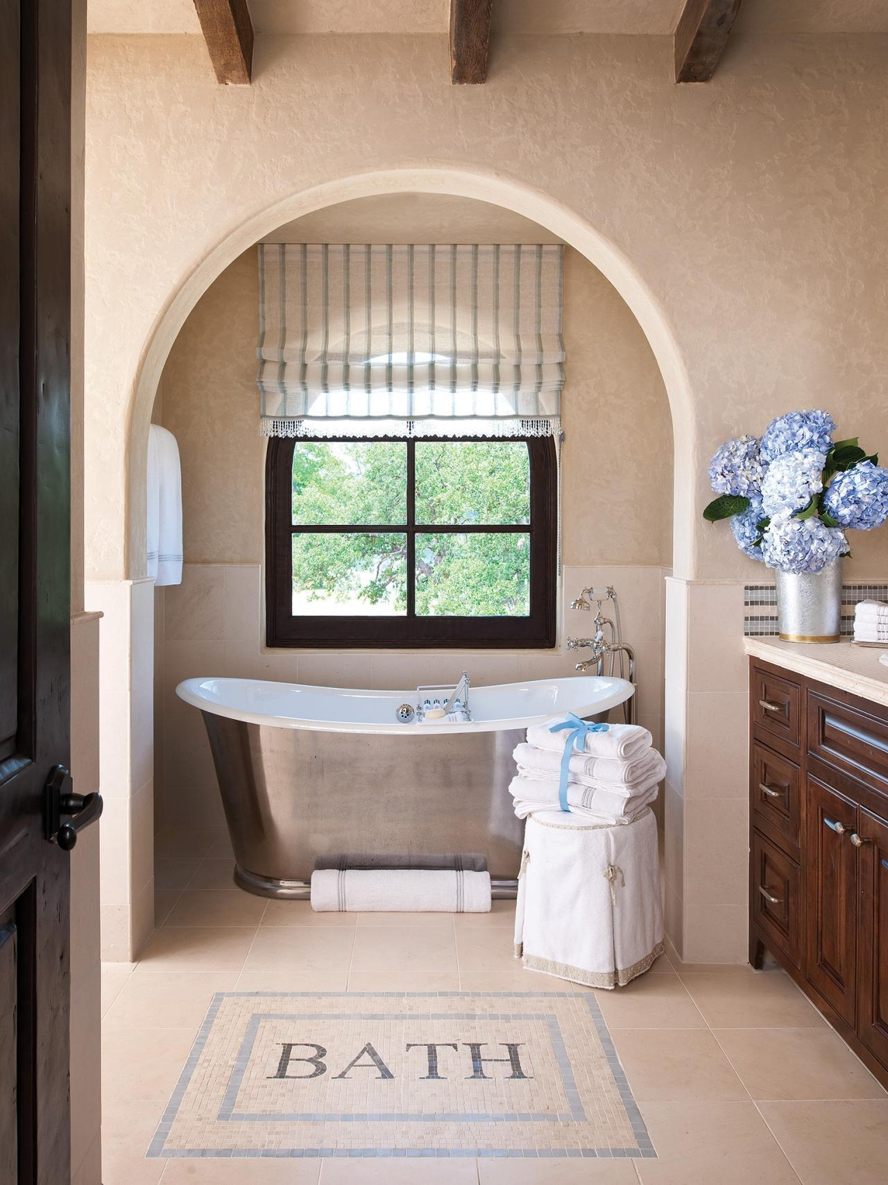 Copper Bathtub Design Ideas: Pictures & Tips From Hgtv | Hgtv Within Italian Wall Art For Bathroom (Image 10 of 20)