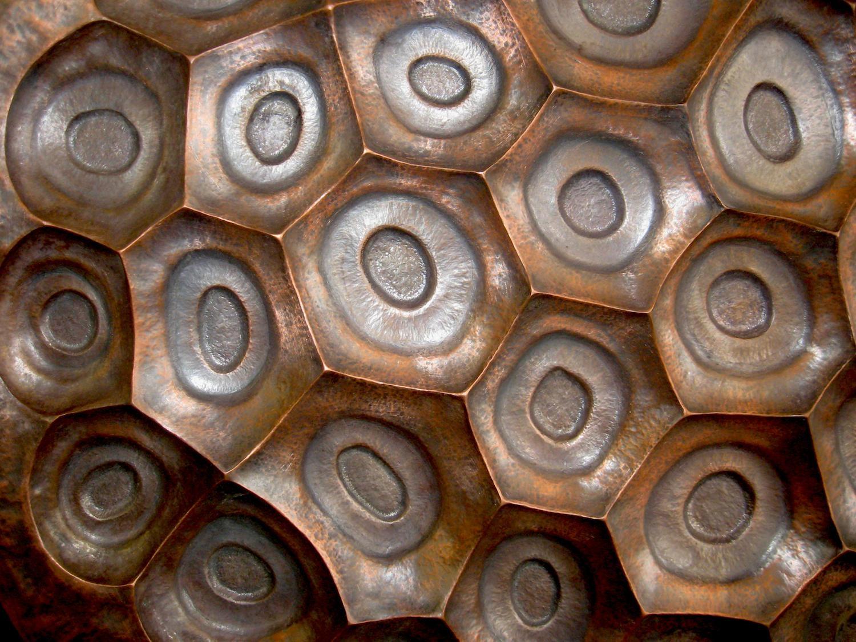 Copper Repousse Wall Art – Artist, Sculptor, Metalsmith Regarding Sheet Metal Wall Art (View 9 of 20)