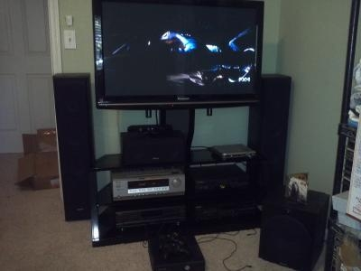 """Cordoba Tv Stand With Mount, For Tvs Up To 52"""" – Walmart Regarding Current Cordoba Tv Stands (Image 4 of 20)"""