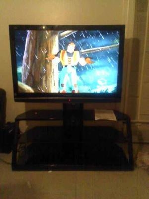 """Cordoba Tv Stand With Mount, For Tvs Up To 52"""" – Walmart Within Current Cordoba Tv Stands (Image 5 of 20)"""