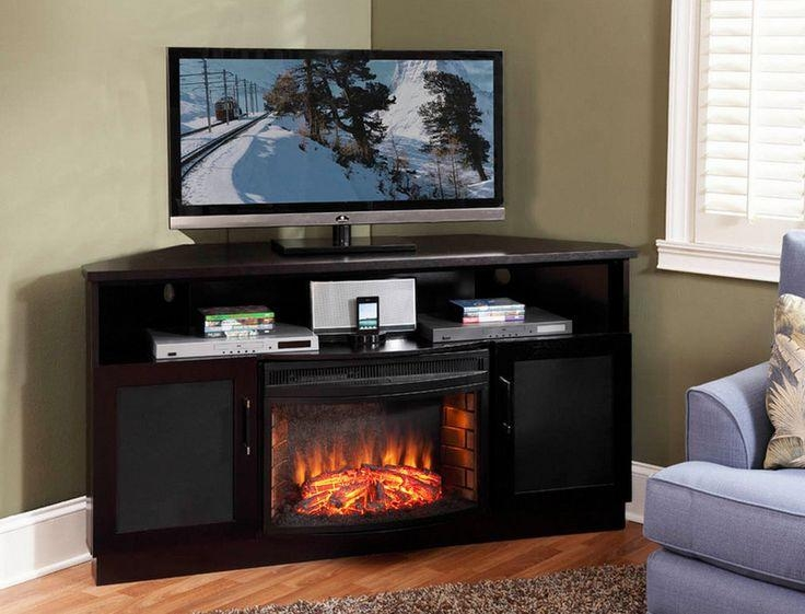 Corner Fireplace Tv Stand For 60 Inch Tv #98 Throughout 2017 Corner 60 Inch Tv Stands (Image 10 of 20)
