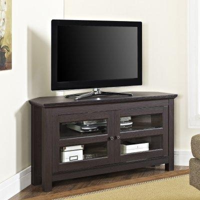 Corner Media Console: Top 5 Best Rated Corner Tv Cabinets Under Within Most Current Under Tv Cabinets (Image 13 of 20)