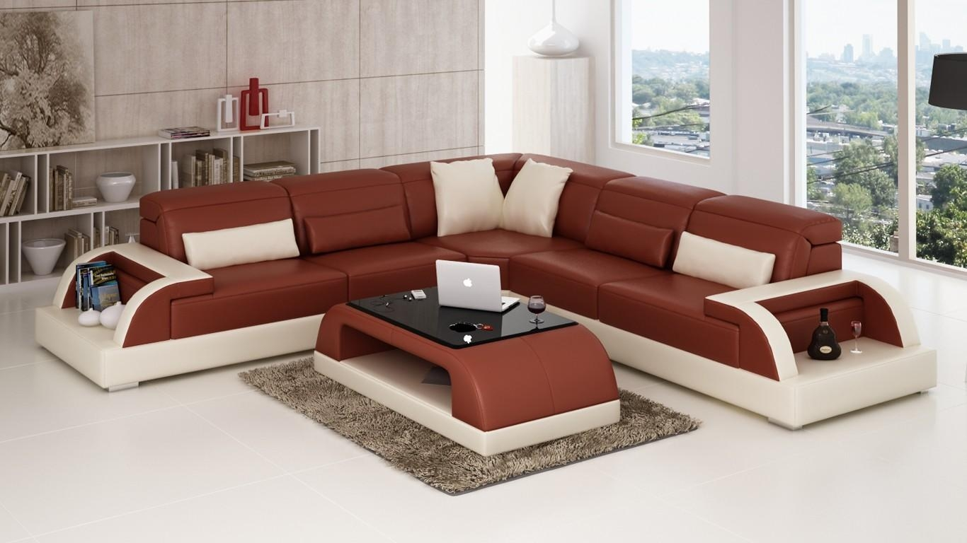 Corner Sofas, Large & Small Corner Sofas, Corner Sofa Leather Pertaining To Small Brown Leather Corner Sofas (Image 9 of 21)