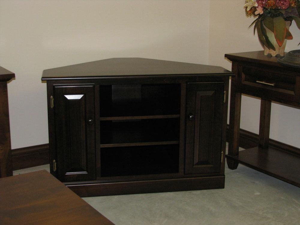 Corner Table For Tv – Table Designs Intended For Best And Newest Corner Tv Tables Stands (Image 15 of 20)