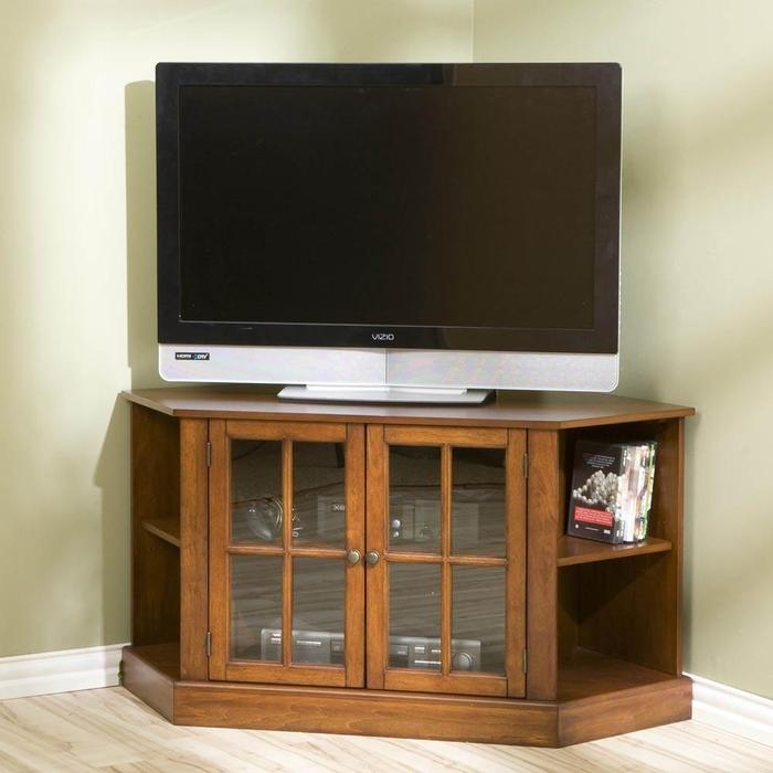 Corner Tv Cabinets For Flat Screen Tvs | Home Design Ideas In Most Recent Corner Tv Cabinets For Flat Screens (View 2 of 20)