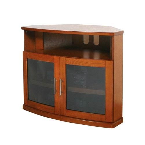 Corner Tv Cabinets Tv Stands And Cabinets | Bellacor Inside Best And Newest Corner Wooden Tv Cabinets (Image 12 of 20)