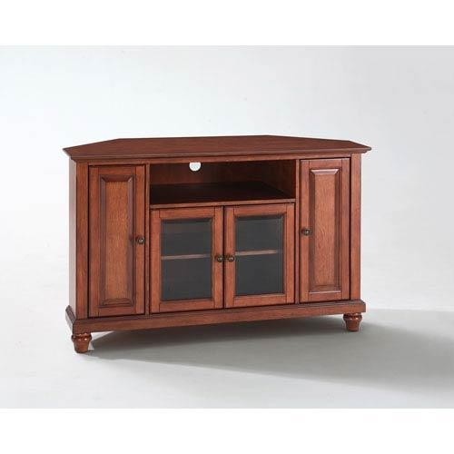 Corner Tv Cabinets Tv Stands And Cabinets | Bellacor With Recent Corner Wooden Tv Cabinets (Image 13 of 20)