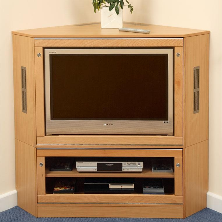 Corner Tv Dvd At Cinema Room | Advice For Your Home Decoration For Most Popular Corner Wooden Tv Cabinets (Image 14 of 20)
