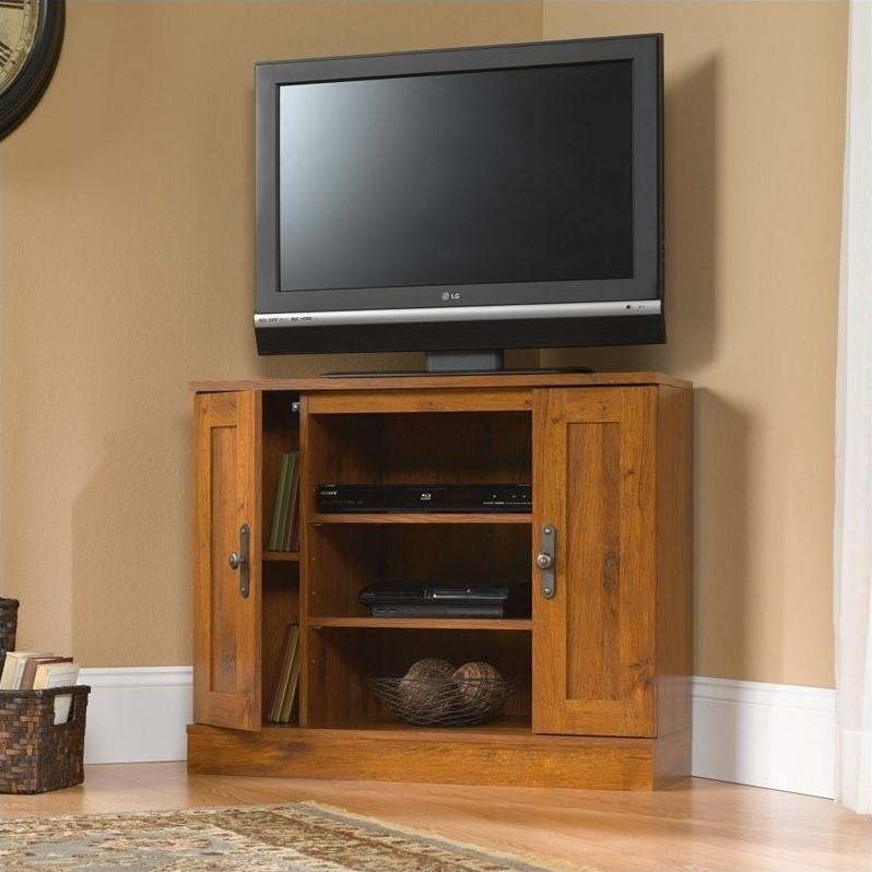 Corner Tv Stand – 404962 Within Most Up To Date Corner Oak Tv Stands (View 14 of 20)