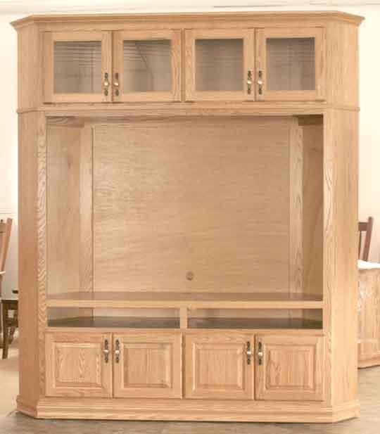 Corner Tv Stands | Corner Tv Cabinets – Clear Creek Amish In Most Recently Released Large Corner Tv Stands (View 13 of 20)