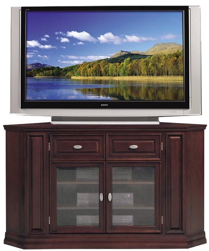 Corner Tv Stands You'll Love Pertaining To Most Recently Released Red Gloss Tv Cabinet (View 13 of 20)