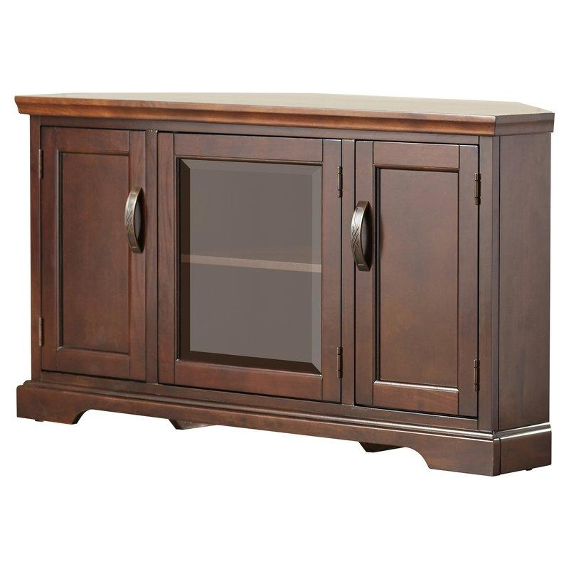 Corner Tv Stands You'll Love Regarding Latest Oak Corner Tv Stands (Image 9 of 20)