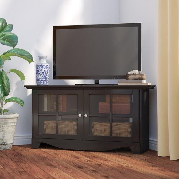 Corner Tv Stands You'll Love Regarding Most Current Triangular Tv Stand (View 10 of 20)