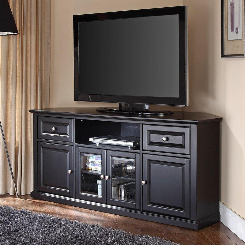 Corner Tv Stands You'll Love Throughout Most Recent Triangular Tv Stands (View 14 of 20)