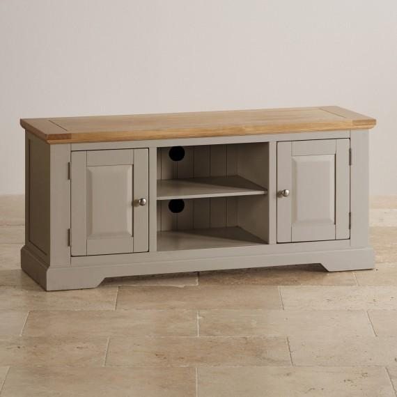 Corner & Widescreen Tv Cabinets | Oak Furniture Land Inside Most Recent Wide Screen Tv Stands (Image 10 of 20)