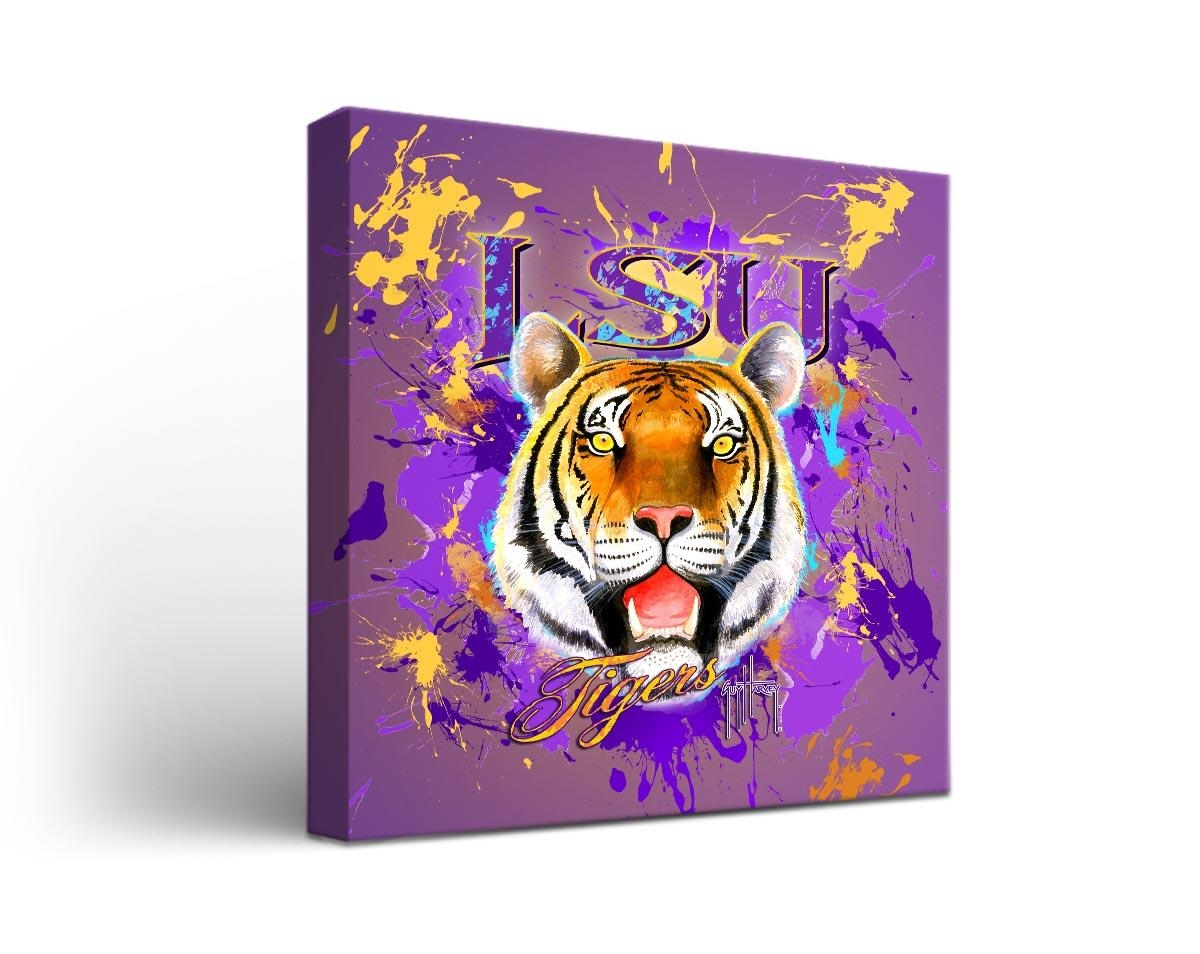 Cornhole Boards & Tailgate Games | Victory Tailgate Inside Lsu Wall Art (Image 2 of 20)