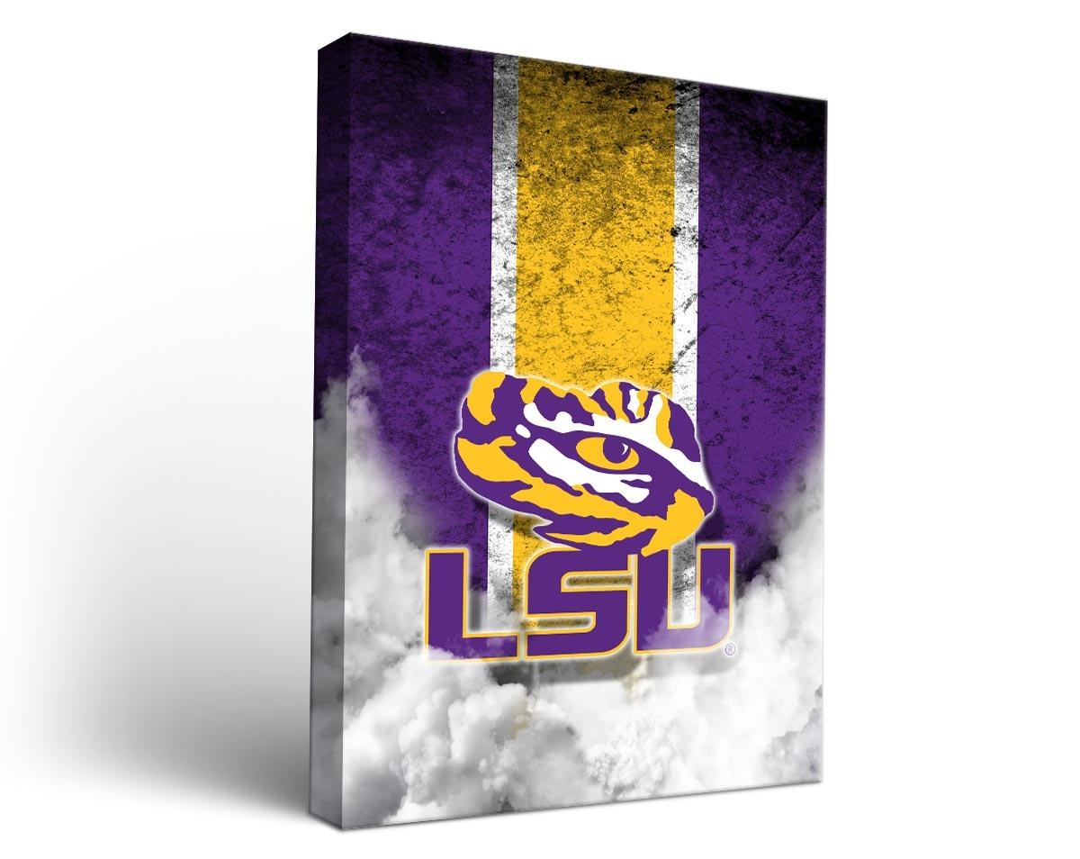 Cornhole Boards & Tailgate Games | Victory Tailgate Pertaining To Lsu Wall Art (Image 3 of 20)