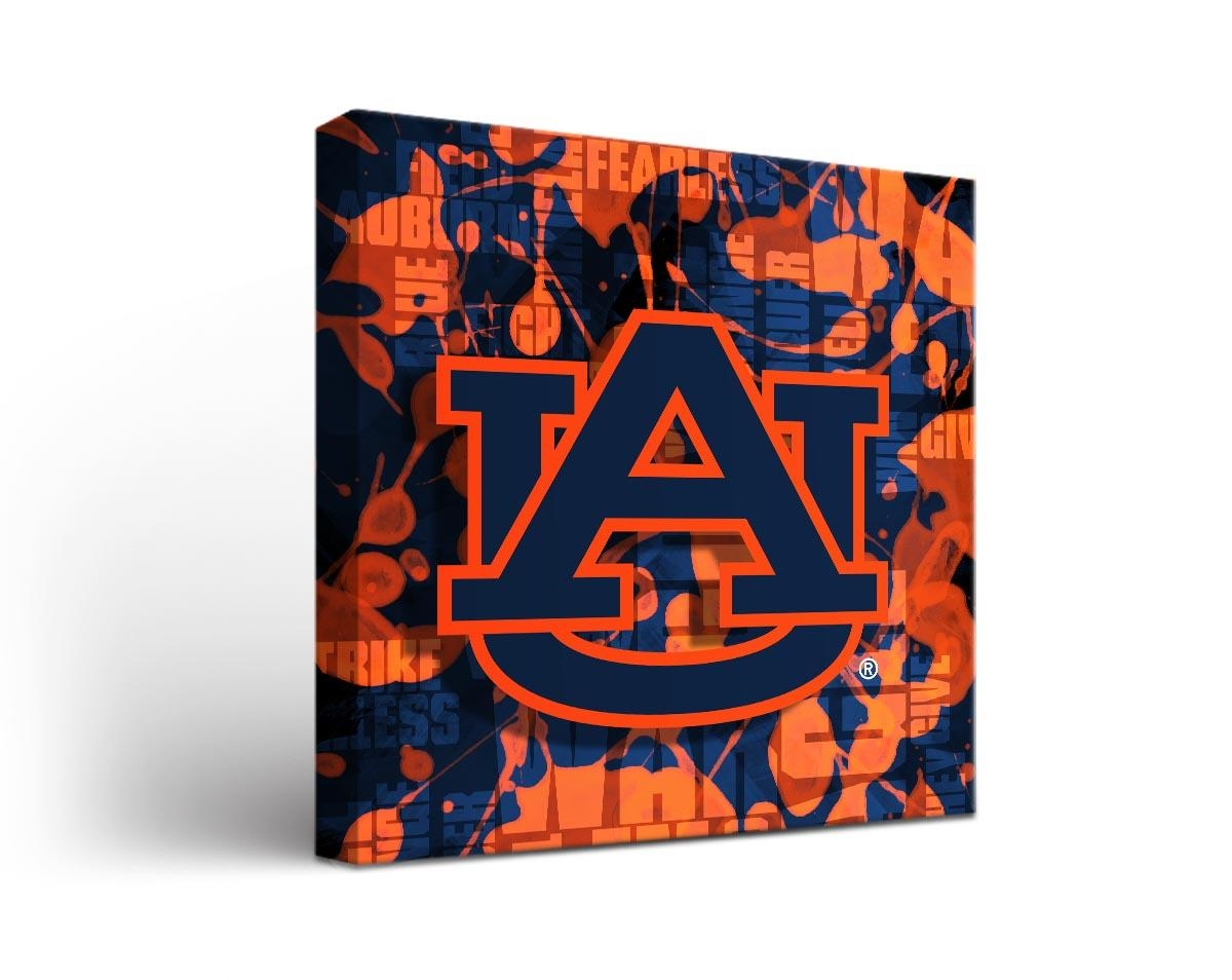 Cornhole Boards & Tailgate Games | Victory Tailgate Regarding Auburn Wall Art (View 4 of 20)